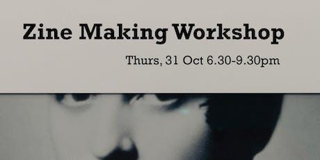 Zine Making Workshop as part of Scaffold tickets