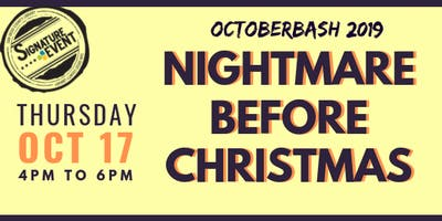 Octoberbash 2019: Nightmare Before Christmas
