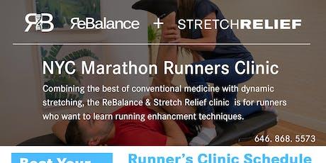 NYC Marathon Runners Clinic tickets