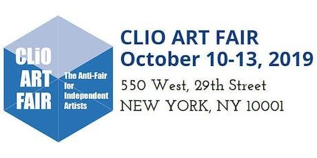 Clio Art Fair, October 12-13, 2019 tickets