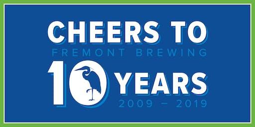 Fremont Brewing - 10 Year Anniversary Bash!