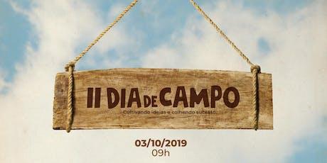II Dia de Campo ingressos