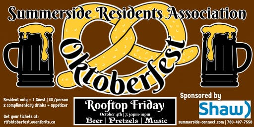 Rooftop Friday Oktoberfest sponsored by Shaw