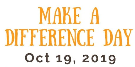Make a Difference Day 2019! tickets
