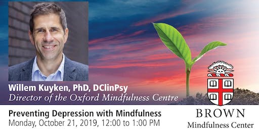 Lecture: Preventing Depression with Mindfulness