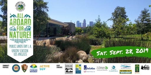ALL ABOARD FOR NATURE! Trip #1: L.A. State Historic Park Activity Hub
