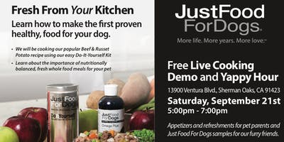 justfoodfordogs Cooking Demo