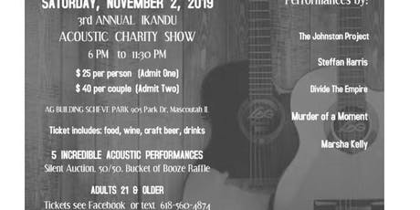 Ikandu 3 rd Annual Acoustic Charity Show tickets