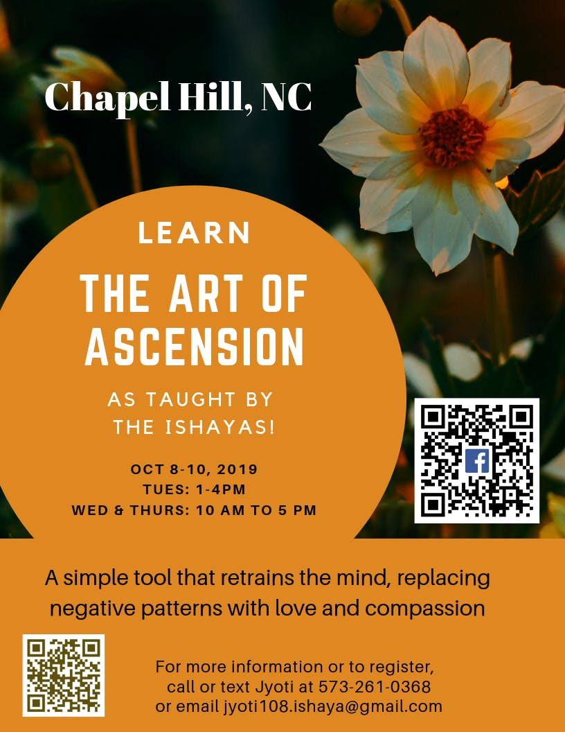 Learn the Art of Ascension in Chapel Hill, NC