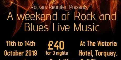Rockers Reunited Rock and Blues weekender tickets