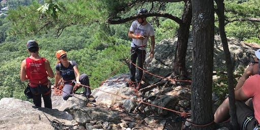 CRUX LGBTQ Climbing - EMS Top Rope Setup Class