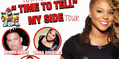 "Torrei Hart ""It's Time to Tell My Side"" Tour"