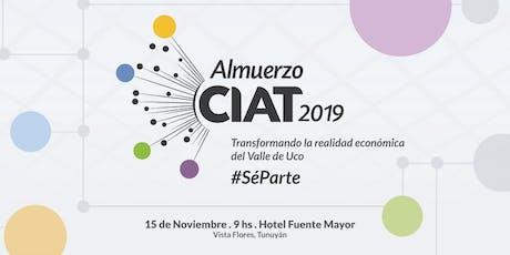 Almuerzo CIAT 2019 entradas