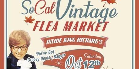 SoCal Fall Vintage Flea Market tickets