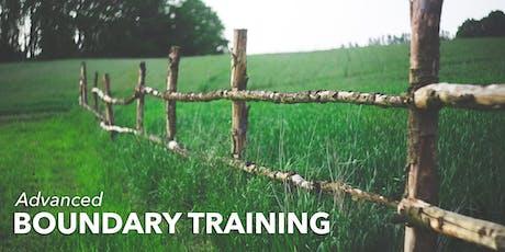 Advanced Boundary Training tickets