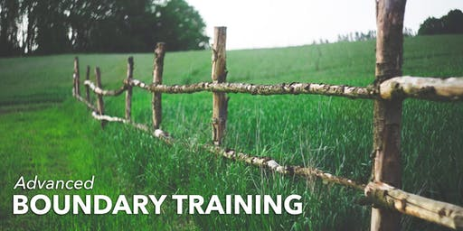 Advanced Boundary Training