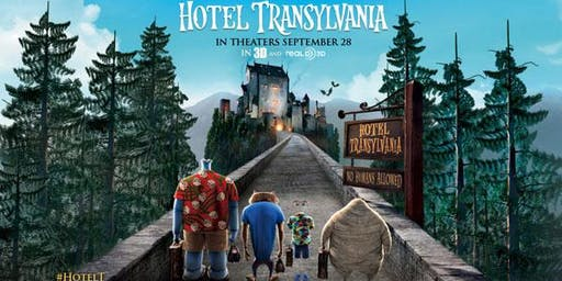 FREE - Movie  Night in the Park - HOTEL TRANSYLVANIA