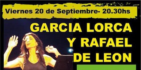 Lorca y Rafael de León - De fuego y Arena entradas