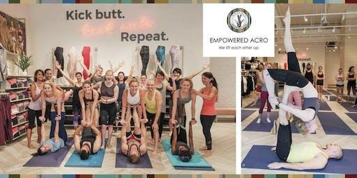 FREE Acro Yoga w/ Empowered Yoga @ Fabletics AUSTIN