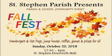 St. Stephen's Fall Festival tickets
