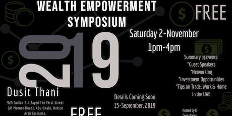 Wealth Empowerment Symposium tickets