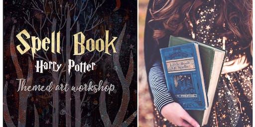 ★ Spell Book - Harry Potter Inspired Art Workshop for children