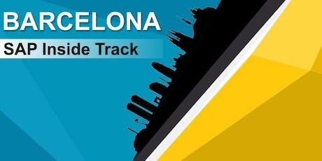 SAP Inside Track Barcelona 2019 entradas