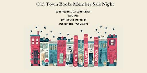 Member Sale Night!