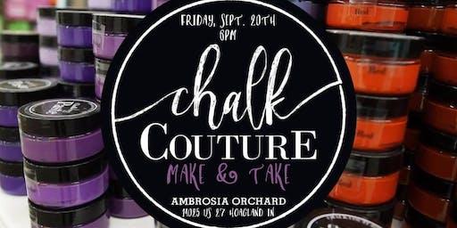 Chalk Couture Make & Take