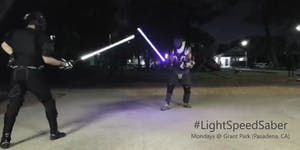 #LightSpeedSaber (Los Angeles, CA)