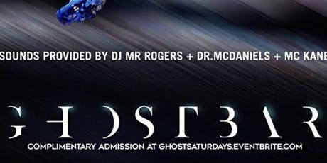 Ghost Bar Saturday's tickets