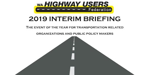 2019 WHUF Interim Briefing