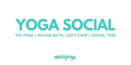 Yoga Social: Yin Yoga + Sound Bath
