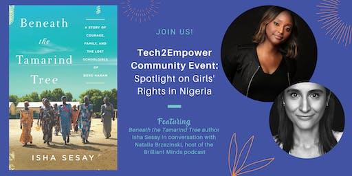 Tech2Empower Community Event: Spotlight on Girls' Rights in Nigeria