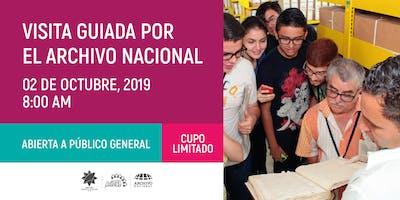 Visita guiada (octubre) - Archivo Nacional de Costa Rica