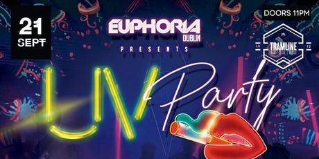Euphoria Dublin UV Party with DJ's Roberto Ferrari, Dellucht & Dave Mladi tickets