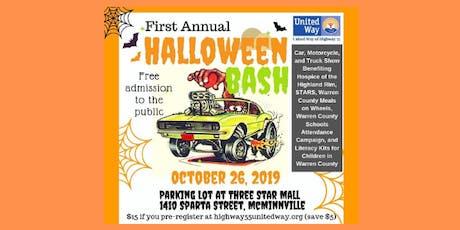 Halloween Bash Car, Truck, and Bike Show tickets
