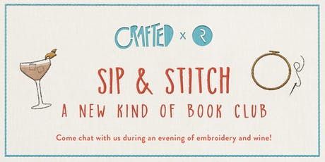 CRAFTED x Riverhead: Sip & Stitch tickets