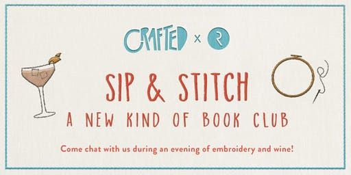 CRAFTED x Riverhead: Sip & Stitch