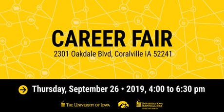 The University of Iowa & UIHC Career Fair tickets