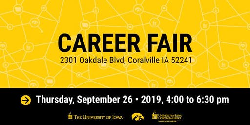 The University of Iowa & UIHC Career Fair