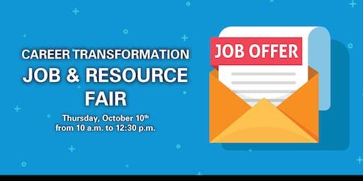 Career Transformation Job & Resource Fair