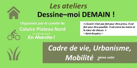 Atelier Dessine-moi Demain !  : Cadre vie billets