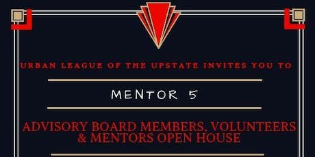 M5- Advisory Board Members, Volunteers & Mentors Open House tickets