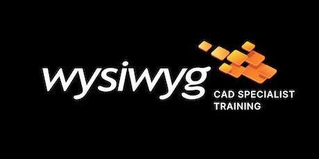 wysiwyg CAD specialist training - Toronto, CA tickets