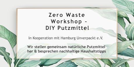 Zero Waste Workshop - natürliche  Putzmittel selbstgemacht Tickets