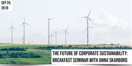 The Future of Corporate Sustainability, Breakfast Seminar @ Gateway tickets
