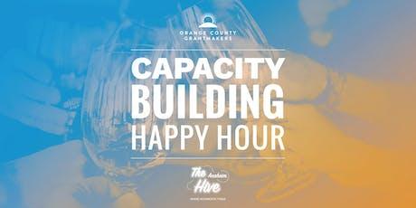 Capacity Building Happy Hour tickets