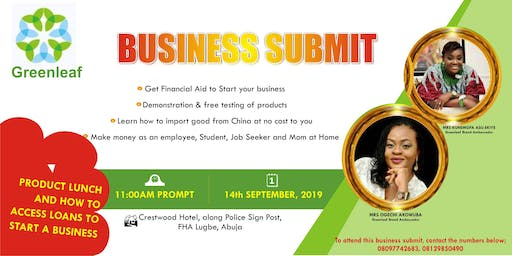 GREENLEAF BUSINESS SUBMIT