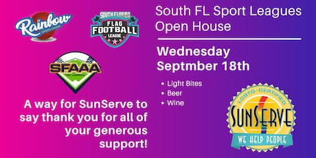 SunServe's: Sport Leagues  Open House tickets